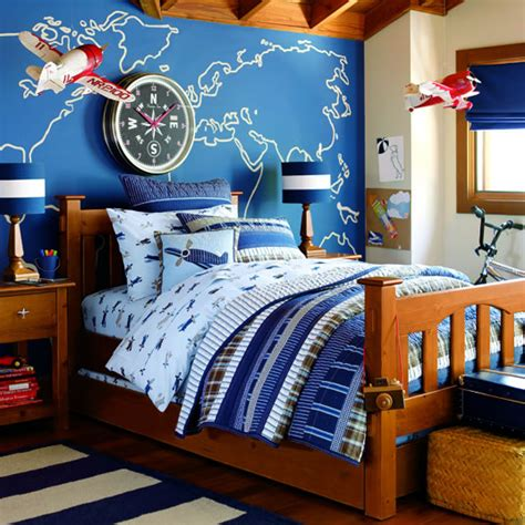 Inspired Wall Designs In A Boy S Room Pottery Barn Kids Pottery Barn Boys Rooms