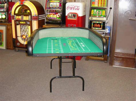 craps tables and practice rigs perfect your technique