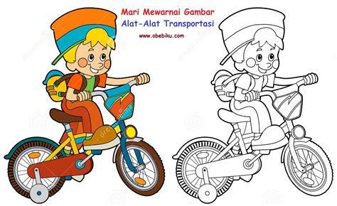 Gendongan Bayi Untuk Naik Sepeda Motor gambar kartun anak naik sepeda top gambar