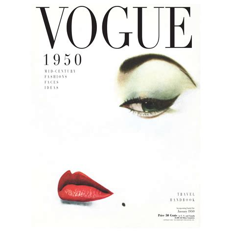 Personalised Wall Murals vogue cover 1950 print hardtofind