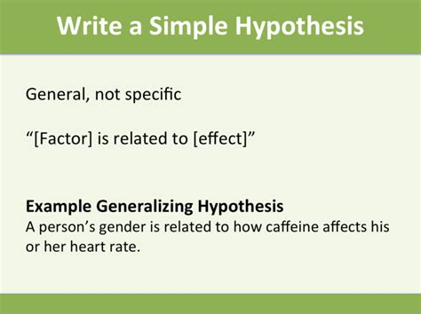 how to write a hypothesis in a research paper how to plan and write a testable hypothesis wikihow