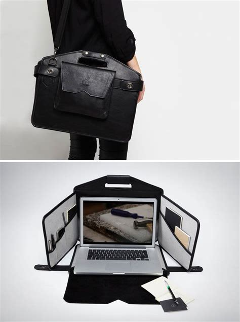 Need A Cool Laptop Bag by How Cool Is This Bag It S A Sleek Laptop Bag That Unfolds