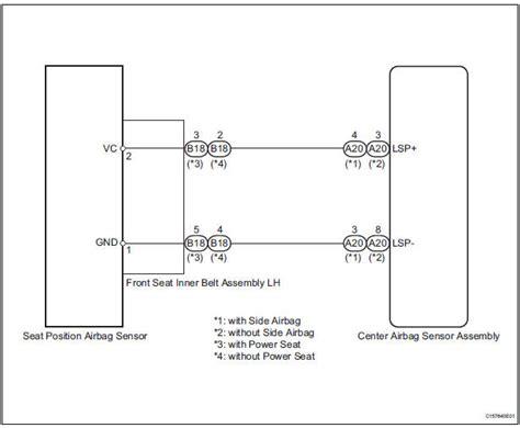 toyota airbag wiring diagram wiring diagram