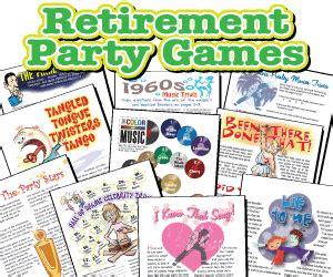 printable retirement games right left retirement game retirement parties