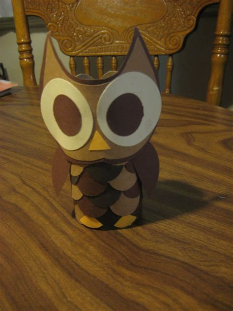 Owl Craft Toilet Paper Roll - toilet paper roll owl arts and crafts for