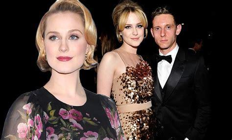 Jamie Bell praises 'warrior' wife Evan Rachel Wood for