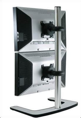 multiple laptop rack vertical dual monitor stand multi monitors pinterest