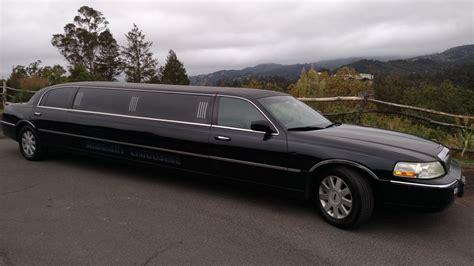 town car limousine lincoln town car stretch limousine