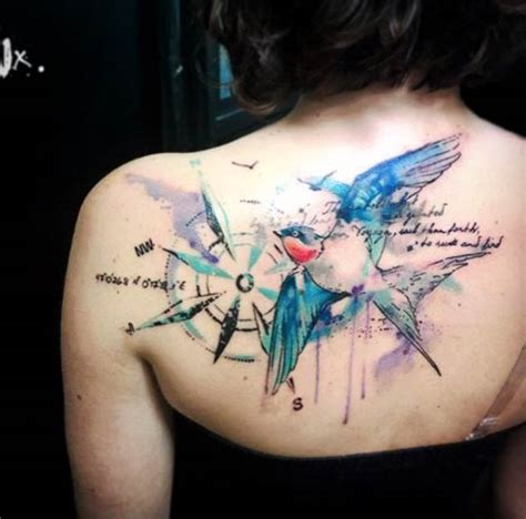 42 friggin amazing compass tattoos tattooblend