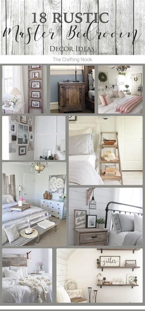 rustic master bedroom decorating ideas 18 rustic master bedroom decor ideas that will invite you in the crafting nook by