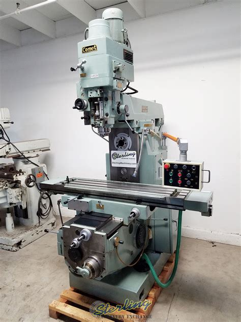stock mighty comet universal power milling