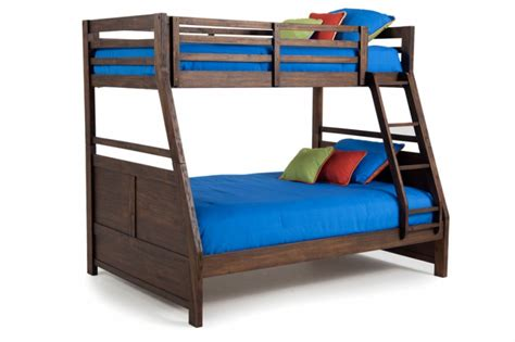 chadwick twin twin bunk bed espresso the brick chadwick twin full bunk bed bob s discount furniture