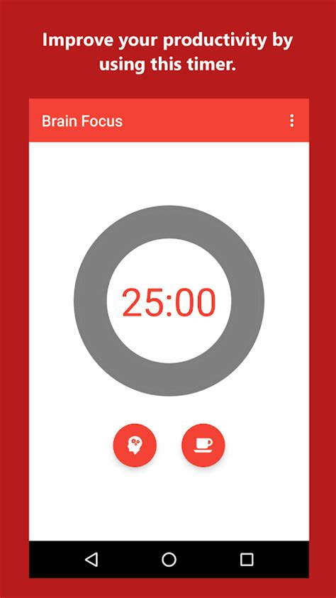focus app brain focus productivity timer android apps on play