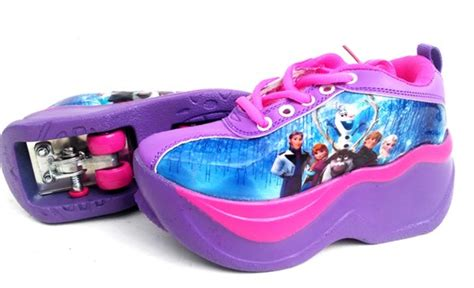 Sepatu Roda 4 Frozen sepatu roda anak karakter toko bunda