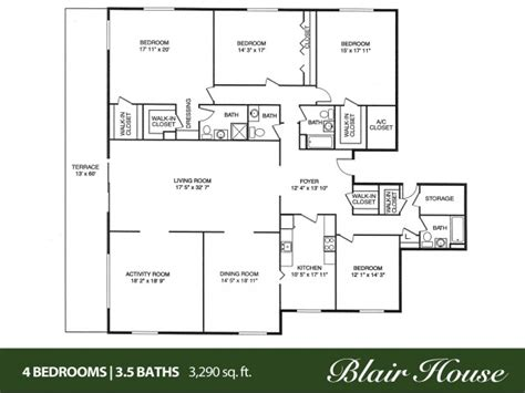 4 bedroom 4 bath house plans 4 bedroom 2 bath house plans 2017 house plans and home