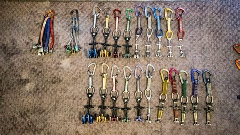 Climbing Rack by Beginning Trad Climbing Rack What To Buy And What To Skip Fox Mountain Guides Climbing School
