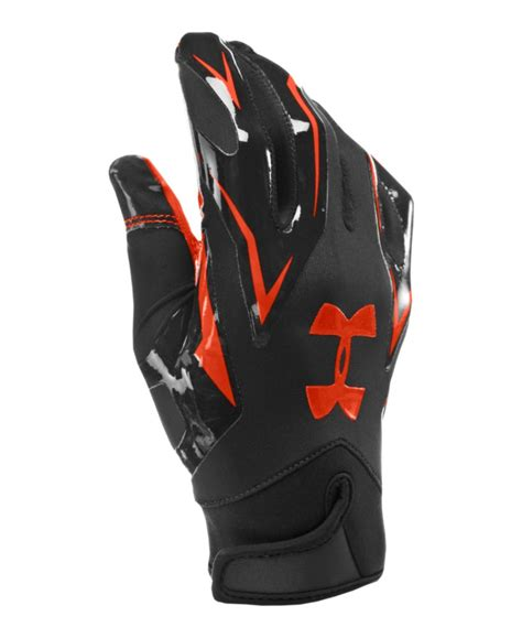 under armoir gloves men s under armour f4 football gloves ebay