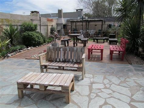 Pallet Garden Furniture Ideas Pallet Patio Furniture Ideas Pallet Wood Projects