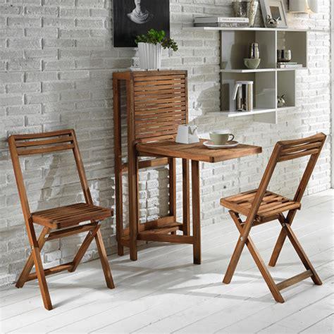 tavolo e sedie per esterno tavolino pieghevole 2 sedie in legno salvaspazio per