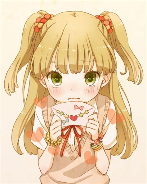 Letter Idolmaster Jougasaki Rika The Idolm Ster Cinderella Image 1093792 Zerochan Anime Image Board