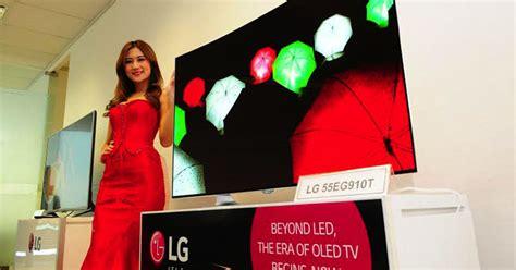teknologi terbaru lg luncurkan tv oled 55 inci di indonesia tekno 187 harian jogja
