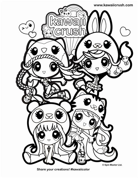 www kawaii crush coloring sheets clipart library