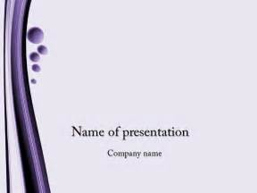 free powerpoint presentation templates free violet bubbles powerpoint template for