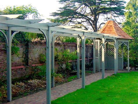 pictures of pergolas in gardens lloyd christie garden architecture pergolas