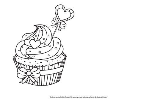 Kostenlose Vorlage Für Gutscheine Ausmalbilder Cupcake Cupcake Ausmalbilder Und Ausmalen