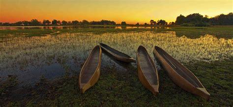 okavango river boats luxury holidays in the okavango delta beyond botswana