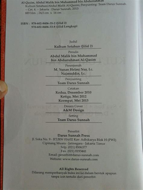 Buku Minhajul Muslim Anak 1 Set 4 Buku buku kultum setahun 1 set 2 jilid