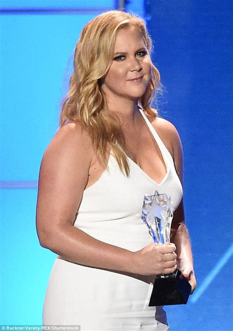 hot blonde stand up comedian amy schumer accused of stealing jokes by three female