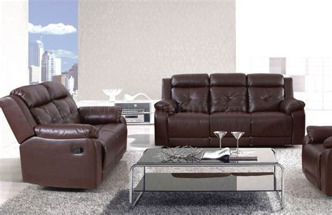 Sherman Recliner by 50520 Sherman Motion Sofa In Brown By Acme W Options