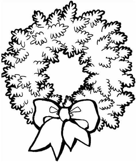 christmas coloring and activity pages christmas wreath