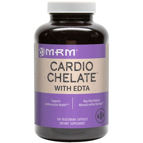 Edta For Heavy Metal Detox by Cardio Chelate With Edta
