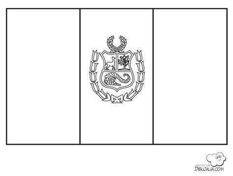 bandera de peru coloring pages escudo y la bandera del per 250 para colorear imagui