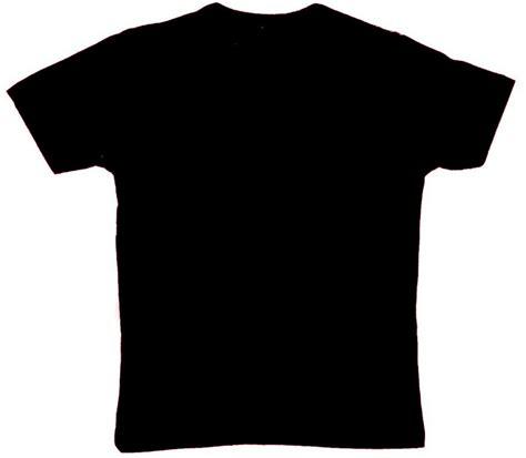 Tshirt Kaos Baju Hitam polo polos hitam clipart best