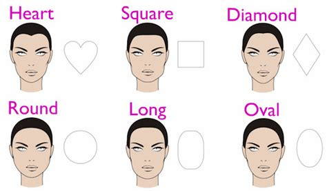 hair styles for head shapes how to find the best hairstyle for your face shape