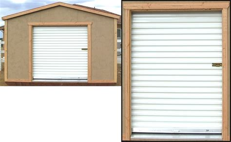 roll up shed doors quotes