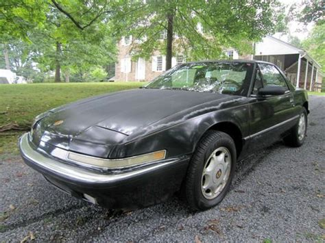 find used 1991 buick reatta black tan coupe in acton massachusetts united states purchase used no reserve 1991 buick reatta coupe 2 door 3 8l v6 one owner in new hope