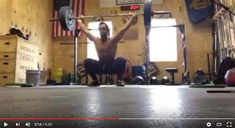 rich froning crushes event 1 of the 2016 crossfit