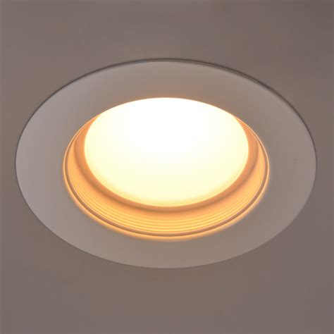 Lu Downlight 13 Watt 4 in dimmable led retrofit downlight recessed ceiling