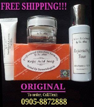 Dr Whitening Care Orioginal Pux2 professional skin care formula by dr alvin everything