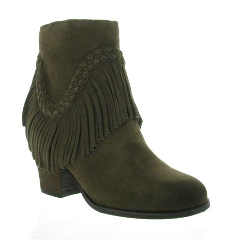 ankle boots with fringe sbicca patience fringe ankle boot ankle boots