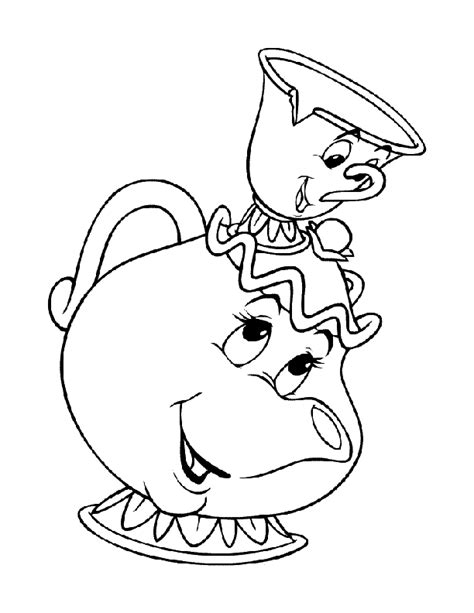 teapot coloring page az coloring pages