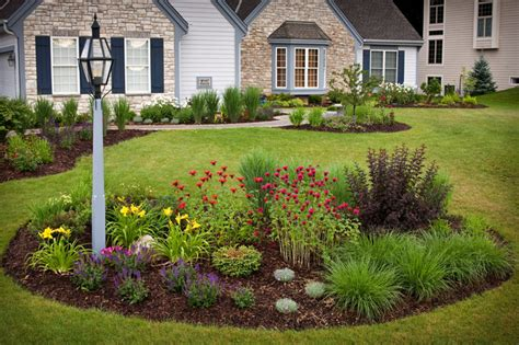 Light Post Landscaping Ideas Country Casual Traditional Landscape Milwaukee By Ginkgo Leaf Studio