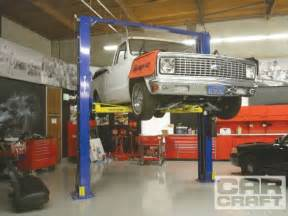 choosing the proper garage car lift two post lifts car