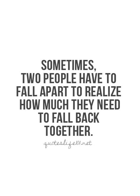 Are They Back Together by Getting Back Together Quotes Quotesgram