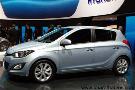 new hyundai i20 2012 new hyundai i20 facelift launch scheduled for june july