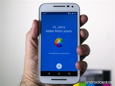 moto g app a look at the moto app on the moto g 2015 android central